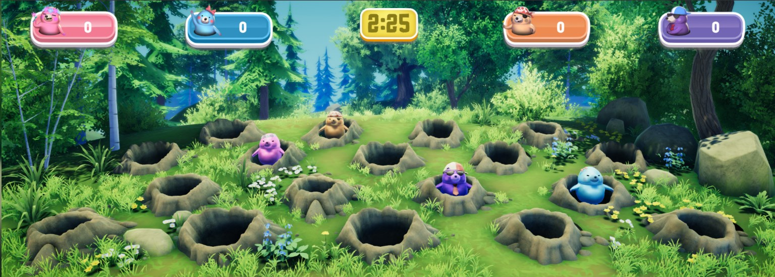 Hole-y-mole gameplay picture