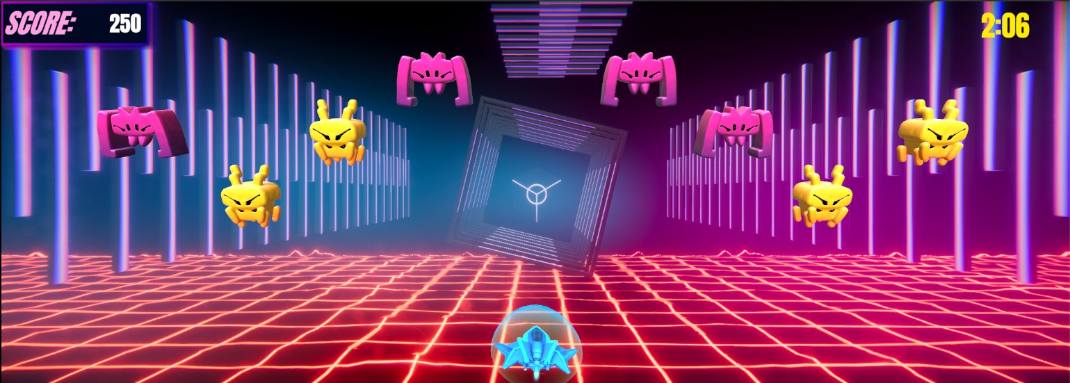 Neon voyager gameplay picture