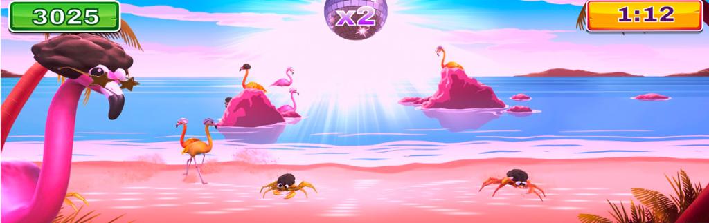 Disco flamingo games