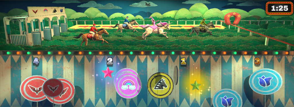 Game wacky race