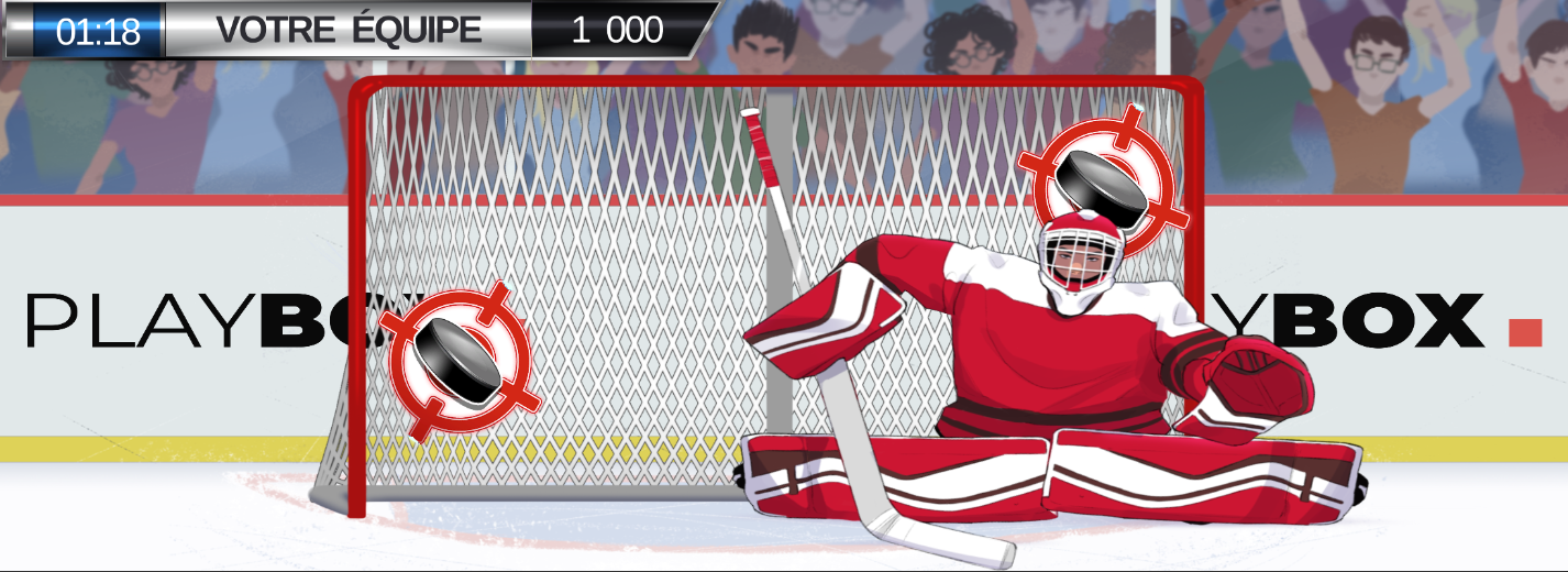 Slapshot shoot-out gameplay picture