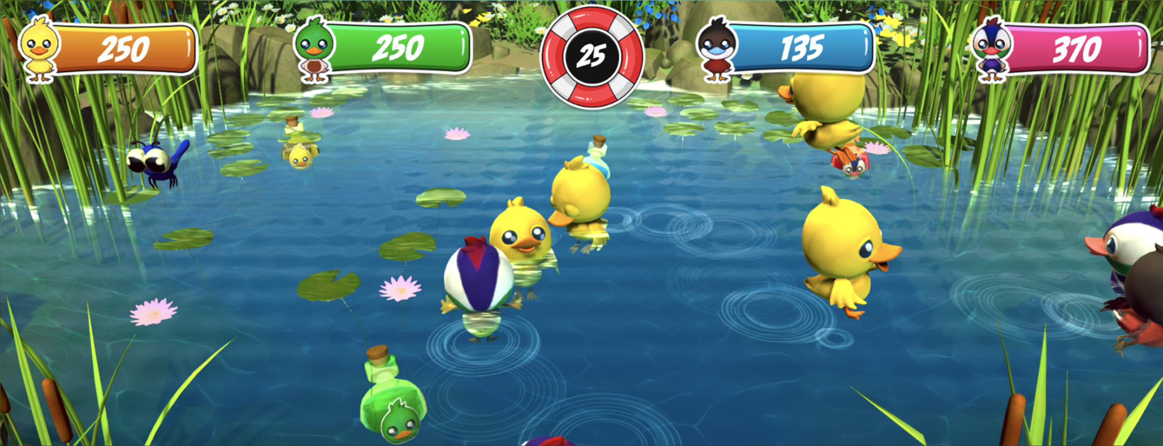 Picture Duck Panic! gameplay picture
