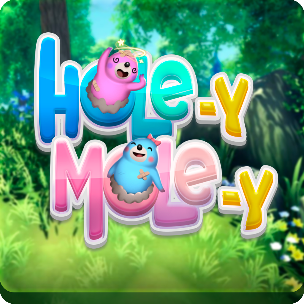 Game cover : Hole-y Mole-y