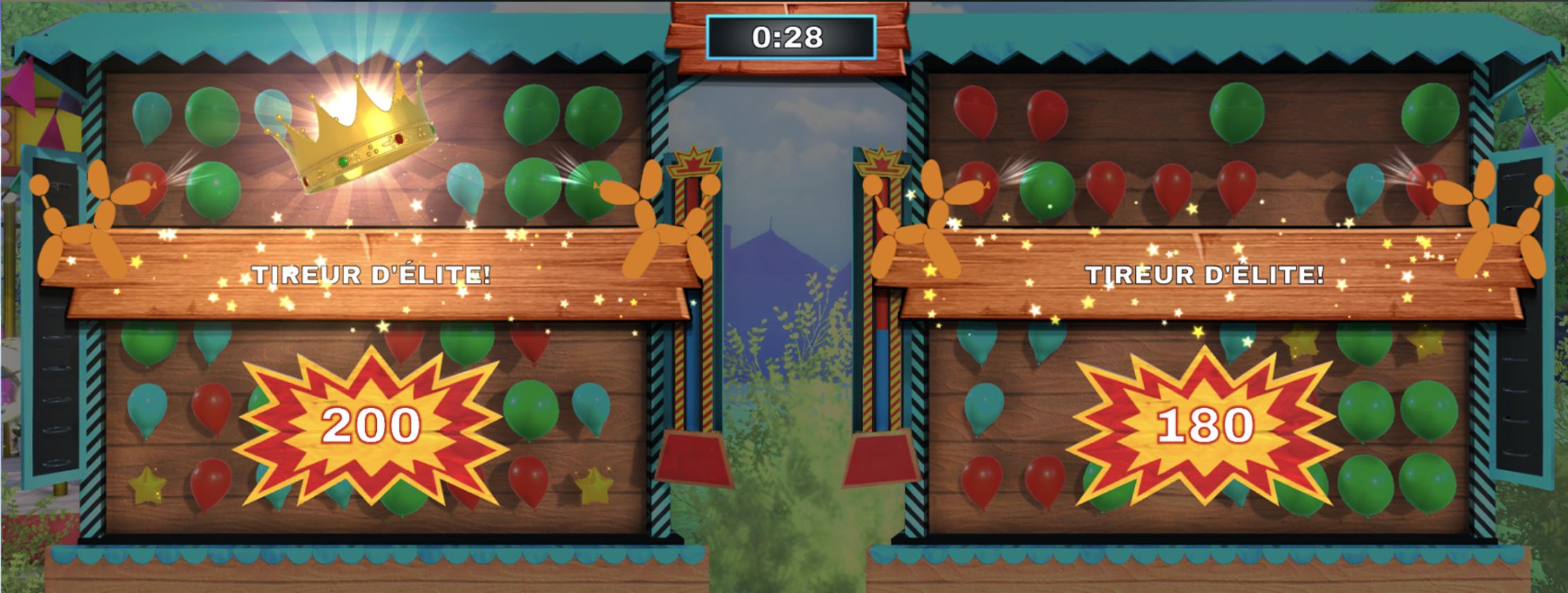 Balloon pop gameplay picture winner