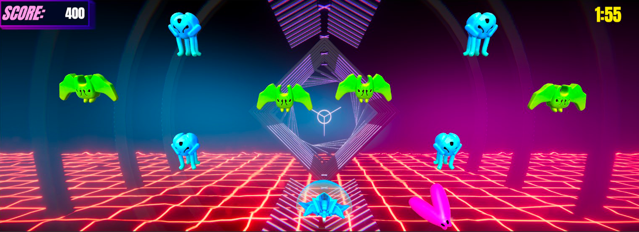 Neon voyager gameplay picture 2