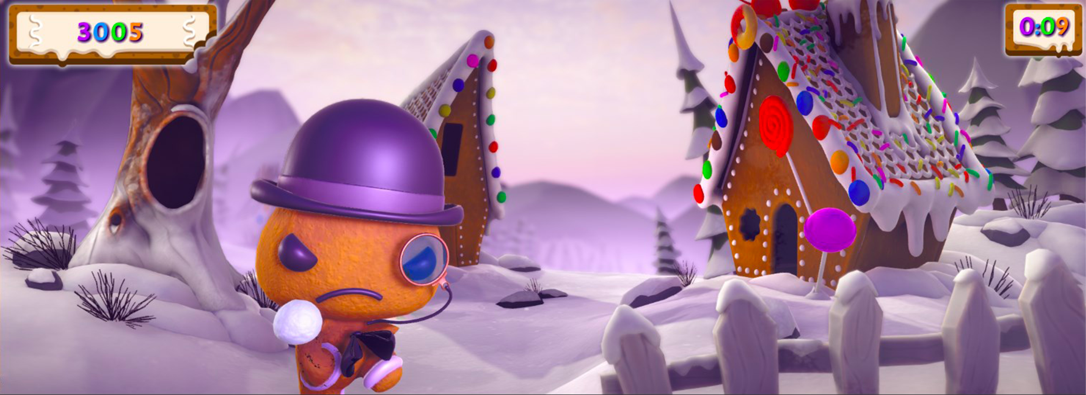 Winter mayhem gameplay picture boss