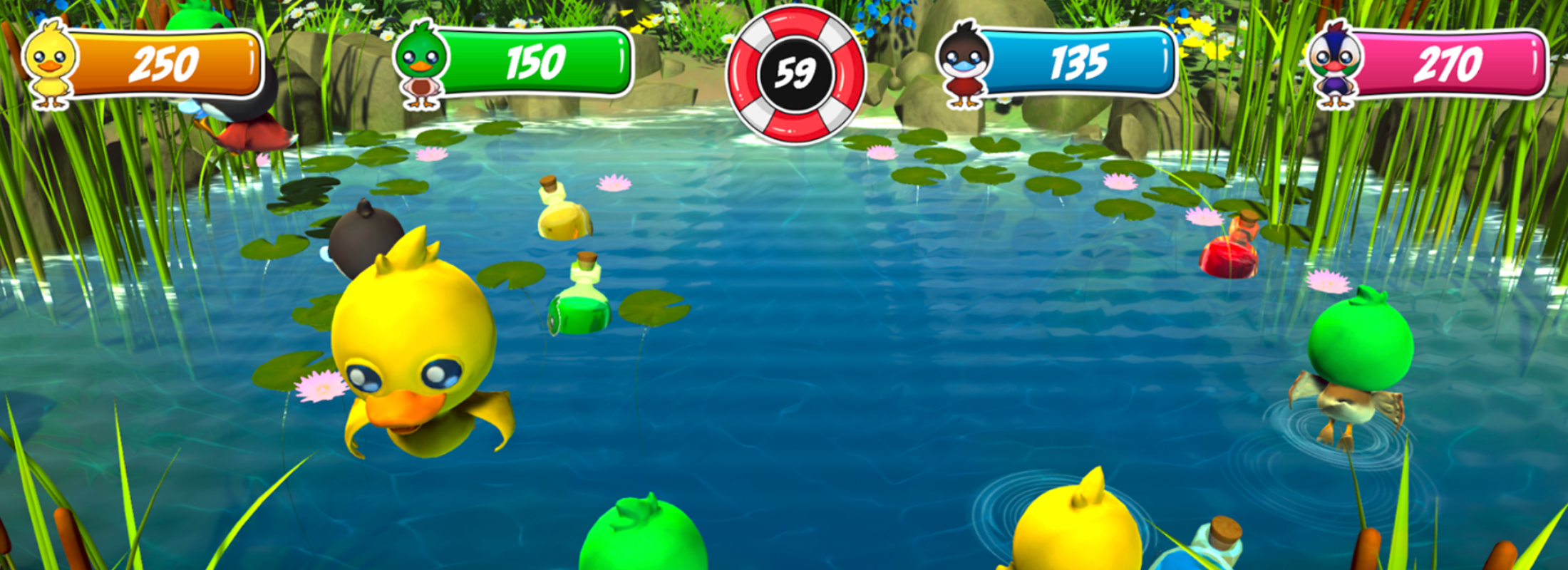 Gameplay picture 2 Duck panic
