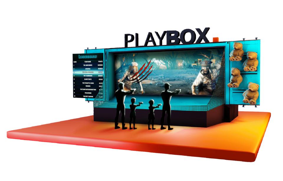 Playbox outdoor format