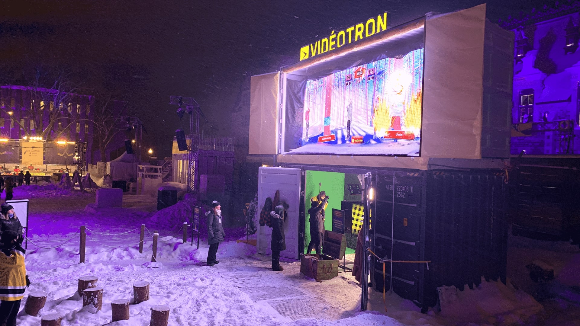 Brand activation videotron