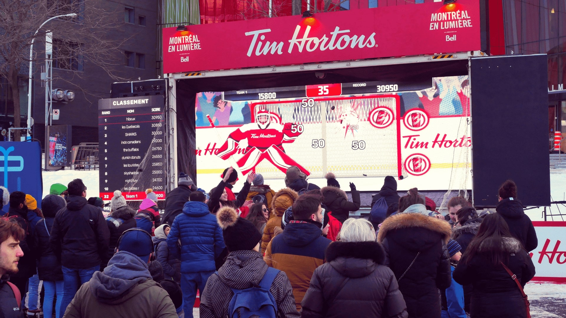 Tim Hortons brand activation